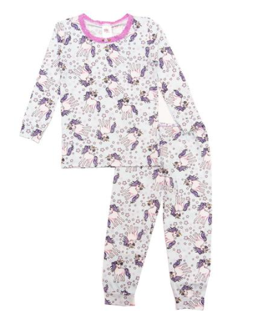 Esme Shimmer Unicorn Long Sleeve PJs