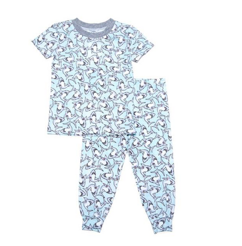 Esme Short Sleeve Sharks PJs