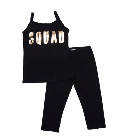 Esme Squad Goals Tank and Leggings PJ Set