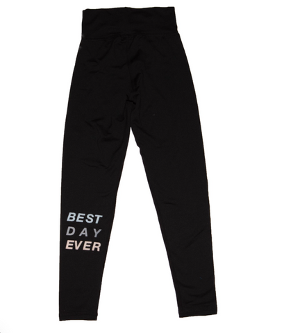 Good Hyouman Best Day Ever Activewear Leggings