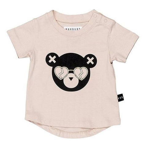 Huxbaby - Metallic Heart Eye Hux Tshirt