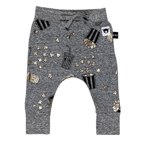 Huxbaby - Metallic Popcorn Movies Drop Crotch Lightweight Sweatpants