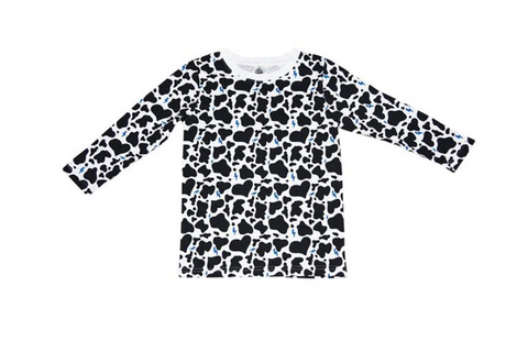 Ice Cream Castles Cow Print Sweatshirt (Preorder)