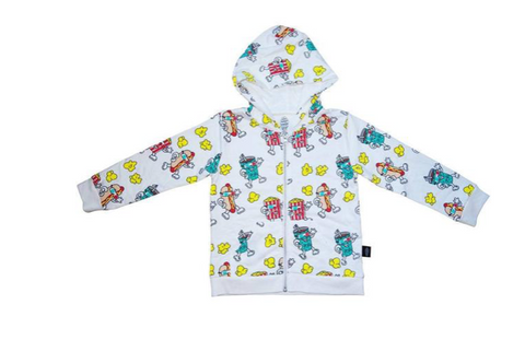 Ice Cream Castles Movie Night Zip Up Hoodie (Preorder)