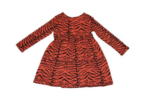 Ice Cream Castles Tiger Stripe Dress (Preorder)