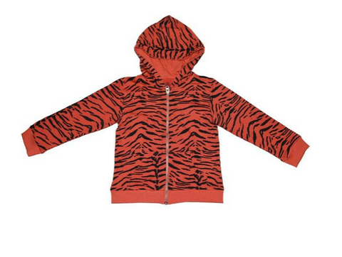 Ice Cream Castles Tiger Zip Up Hoodie (Preorder)