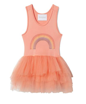 Iloveplum B.A.E. Rainbow Tutu Dress
