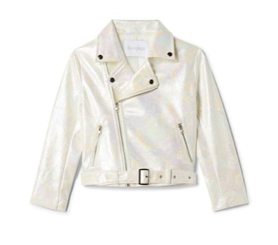 Iloveplum Maui Iridescent Faux Leather Jacket