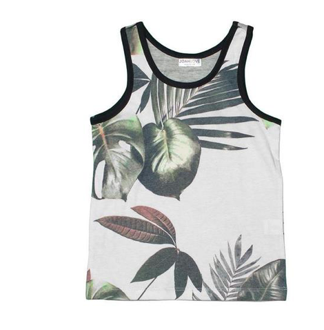 Joah Love Palm Tree Tank Top (Preorder)
