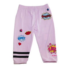 Lauren Moshi -  Comic Kiss Sweatpants