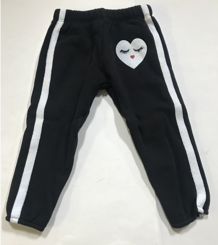 Lauren Moshi -  Glam Heart Sweatpants