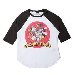 Lauren Moshi Looney Tunes Long Sleeve Raglan