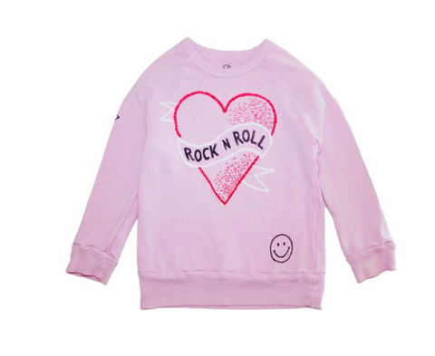 Lauren Moshi - Rock N' Roll Sweatshirt