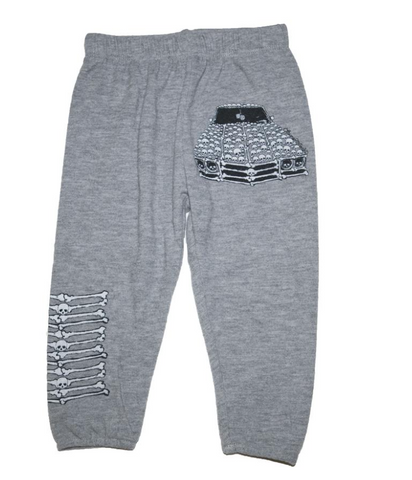 Lauren Moshi -  Skull Vintage Car Sweatpants