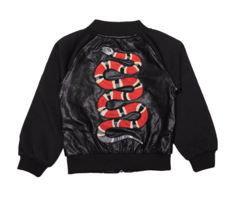 Lola and The Boys - Gucci Snake Bomber