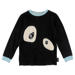 Loud Apparel - Furry Monster Eye Long Sleeve Top