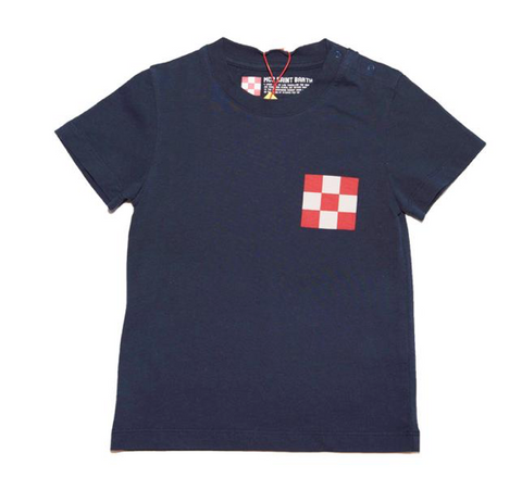 Mc2 Saint Barth St. Barth Checkered Tshirt
