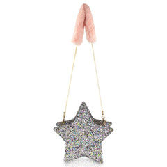 milk & soda glitter star bag