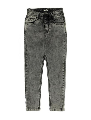 Molo Augustino Stonewash Soft Denim Pants