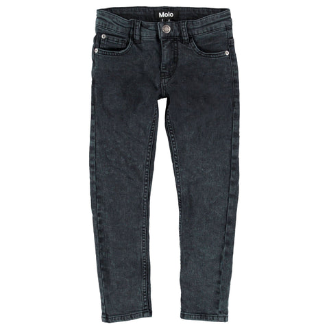 Molo Distressed Washed Denim Pants
