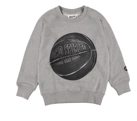 Molo Good Spirits Basketball Sweatshirt