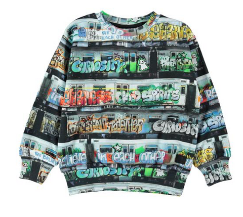 Molo Subway Graffiti Sweatshirt