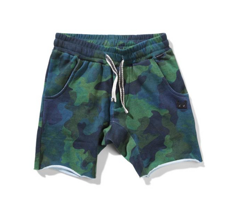 Munster Kids Camo Water Down Shorts