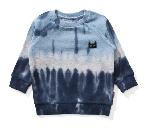 Munster Kids Dribble Tie Dye Sweatshirt
