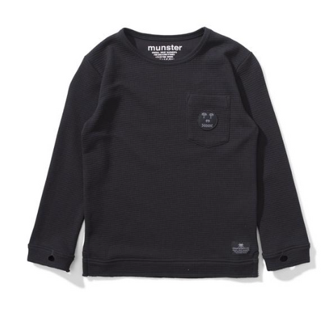 Munster Kids Therm Waffle Long Sleeve Top
