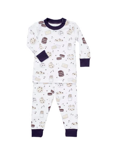 Noomie Milk & Cookies Two Piece PJs
