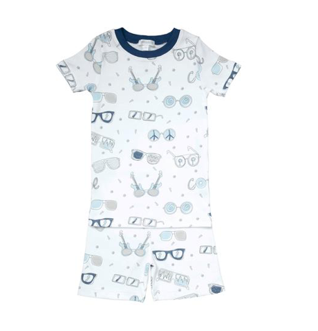 Noomie Shades Short Sleeve Two Piece PJs