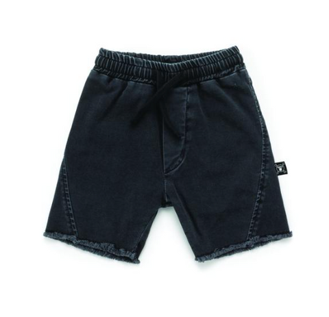 Nununu - Raw Edge Denim Shorts (Preorder)