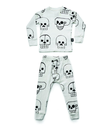 Nununu- All Around Robot Skull PJs