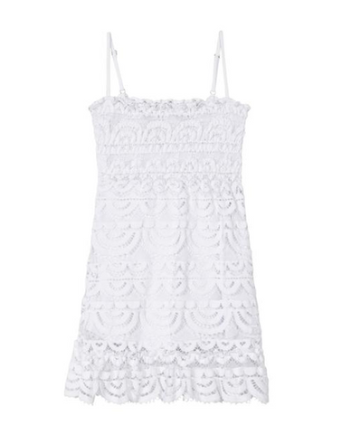 Pilyq Kids Water Lily Lace Coverup Dress (Preorder)