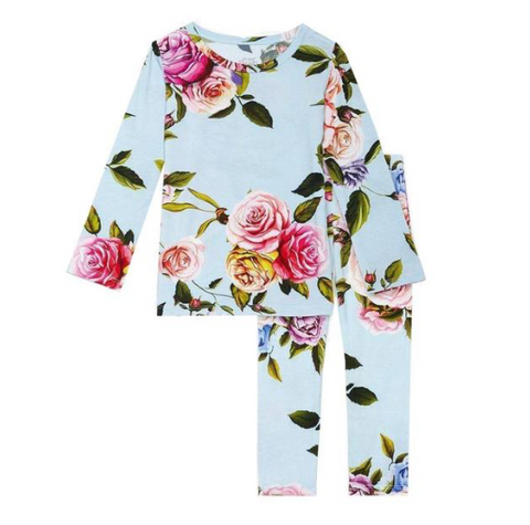 Posh Peanut Country Rose Two Piece PJs