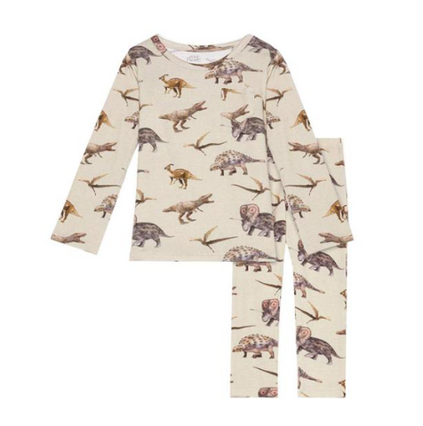 Posh Peanut Vintage Dino Two Piece PJs
