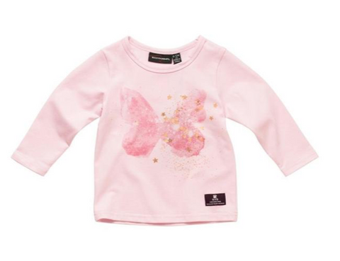 Rock Your Baby Butterfly Long Sleeve Top