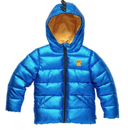 Rock Your Baby Dino Puffer Jacket