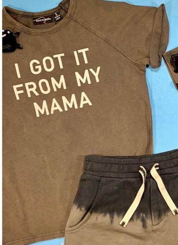 Rock Your Baby I Got it From My Mama Tshirt