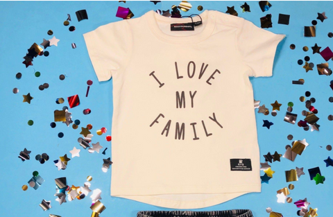 Rock Your Baby I Love My Family Tshirt