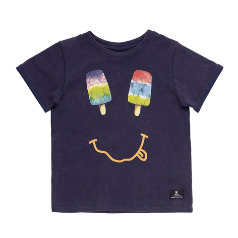 Rock Your Baby - Popsicles Happy Face Tshirt