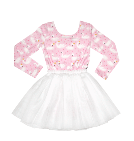 Rock Your Baby Swan Tutu Dress