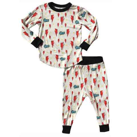 Rowdy Sprout - Bowie Bamboo PJs