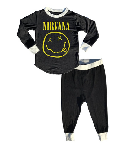 Rowdy Sprout - Nirvana Bamboo PJ Set