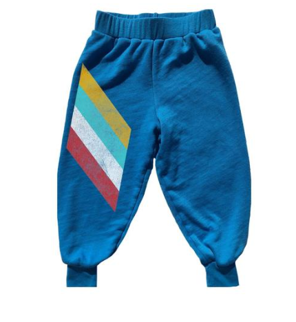 Rowdy Sprout Peace Stripe Sweatpants