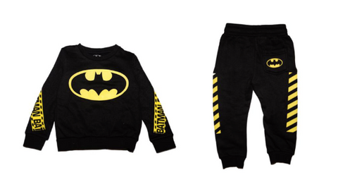Eleven Paris Kids Batman Sweatshirt & Eleven Paris Kids Batman Sweatpants