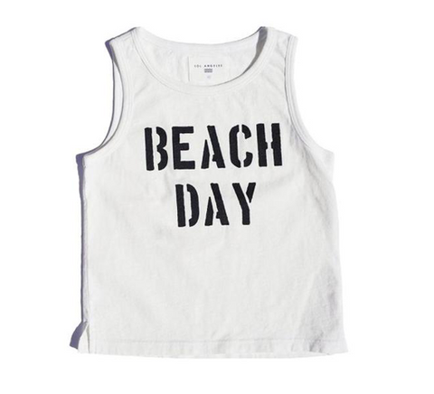 Sol Angeles Kids Beach Day Tank Top