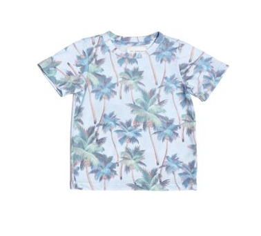 Sol Angeles Kids Coastal Palm Tree Tshirt