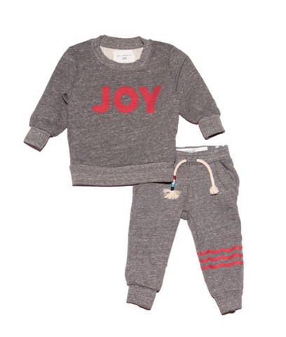 Sol Angeles Kids Joy Sweater and Sweatpants Set