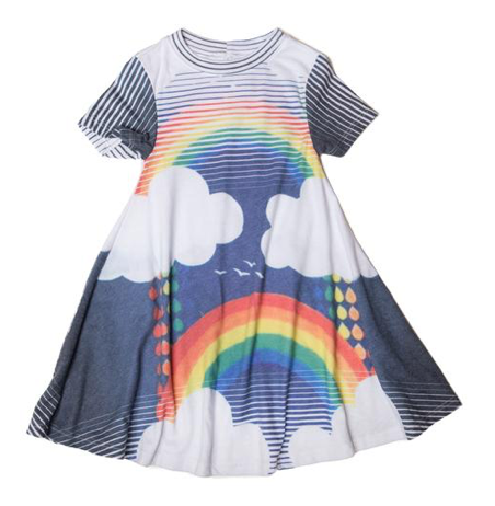 Sol Angeles Kids Over The Rainbow Dress